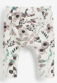 Next - 3 PACK - Leggings - Trousers - mint  light pink white - 4