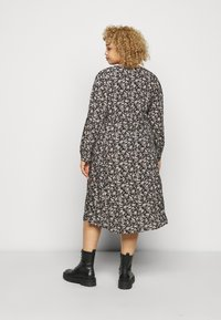ONLY Carmakoma - CARCAN CALF DRESS  - Day dress - black/cement - 2