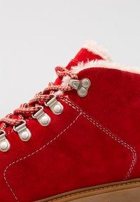 Darkwood - 7007 - Vinterstøvler - red - 2