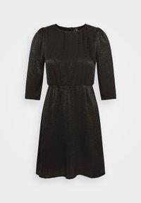 Vero Moda Petite - VMJENICE SHORT DRESS - Day dress - black - 4