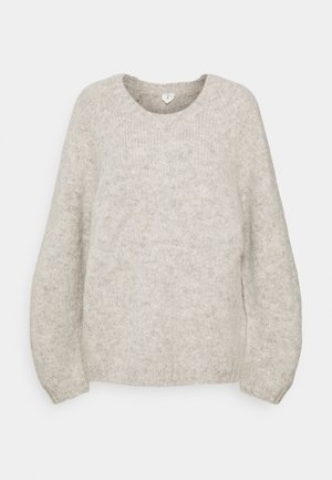 Strickpullover - grey dusty