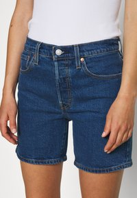 Levi's® - 501® MID THIGH - Jeans Shorts - charleston shadow - 4