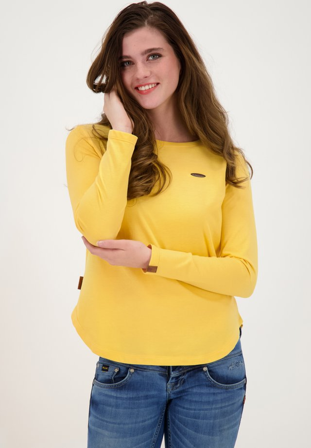 Long sleeved top - amber