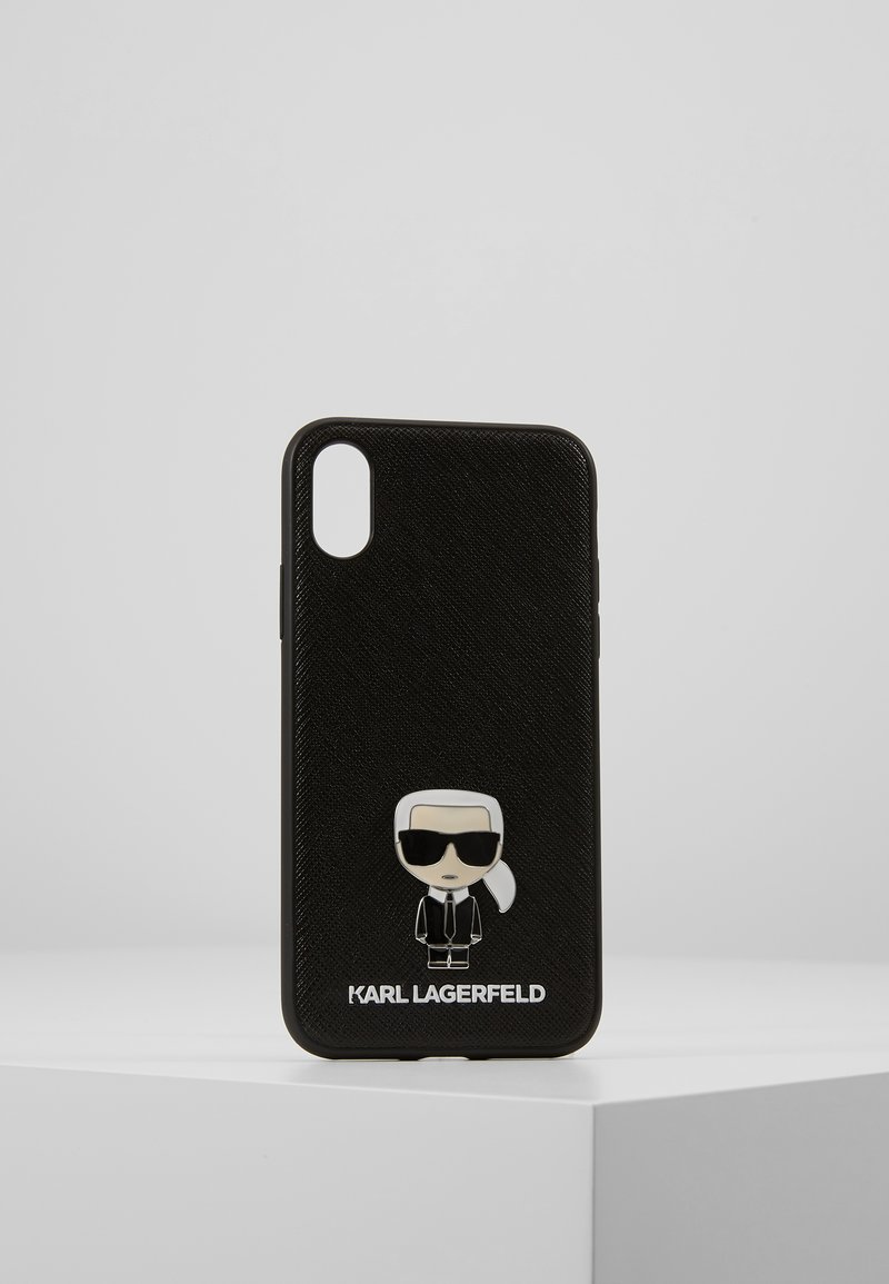 KARL LAGERFELD - IKONIK PIN XS - Phone case - black