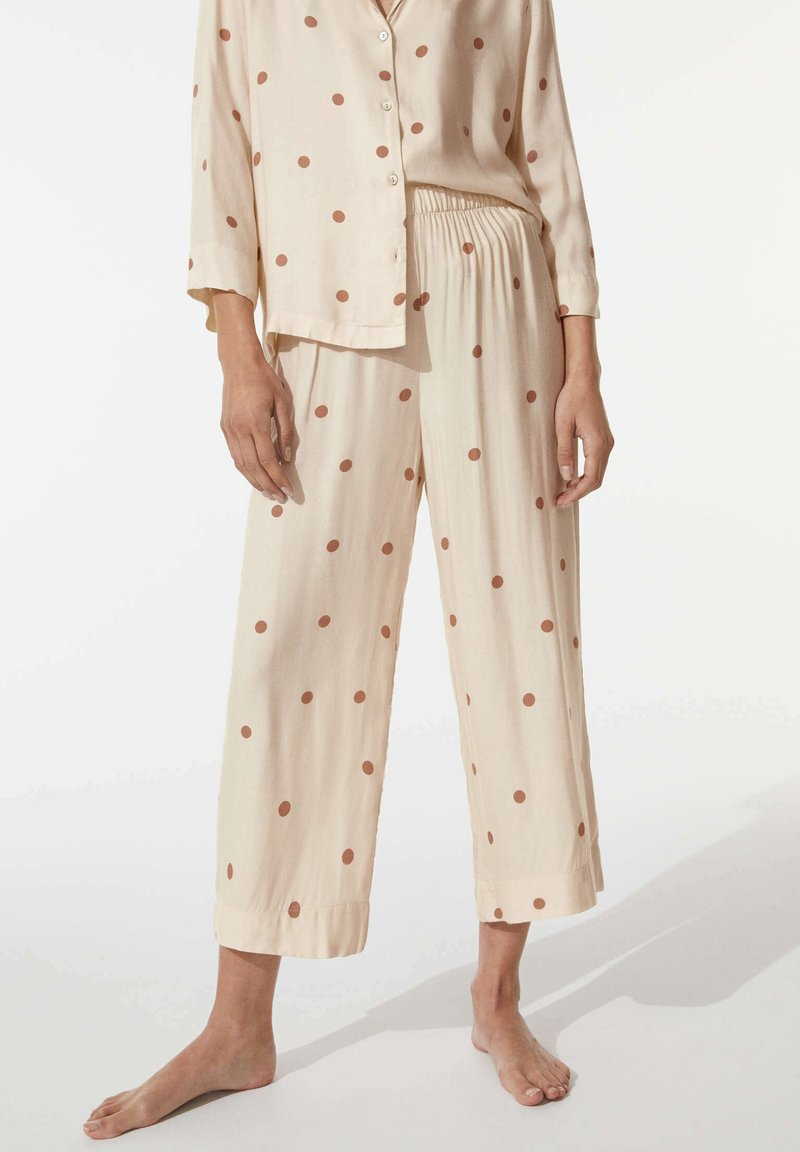 OYSHO - Pyjama bottoms - beige