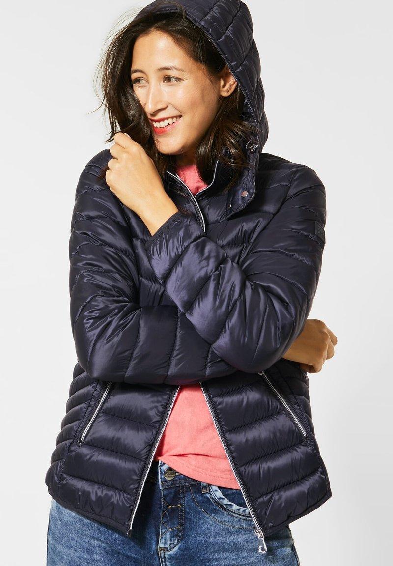 Street One - Winter jacket - blau