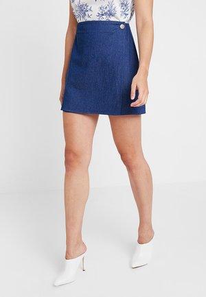 PLANTNE - Áčková sukně - blue