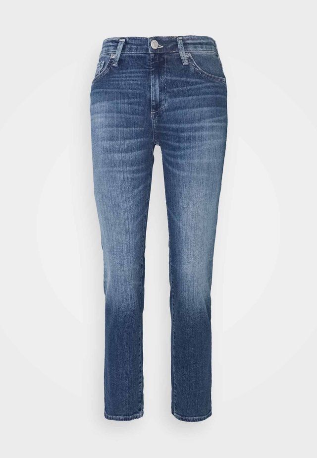 VINTAGE - Jeans Straight Leg - denim