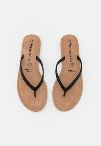 Tamaris - T-bar sandals - black glam - 5
