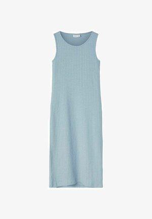 GERIPPT - Maxi dress - dusty blue