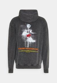 PRAY - UNISEX SANCTUM HOODIE - Zip-up hoodie - acid wash black - 1