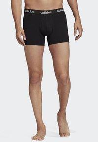 adidas Performance - BRIEFS 3 PAIRS - Panties - black - 3