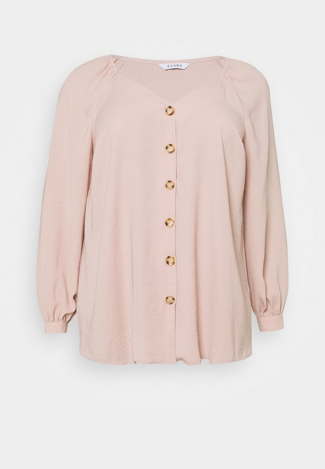 BLUSH SWEETHEART NECK - Pusero - blush