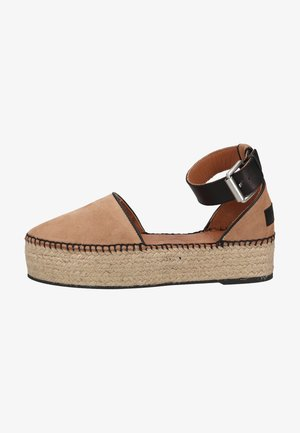 Espadrilky - soft rose