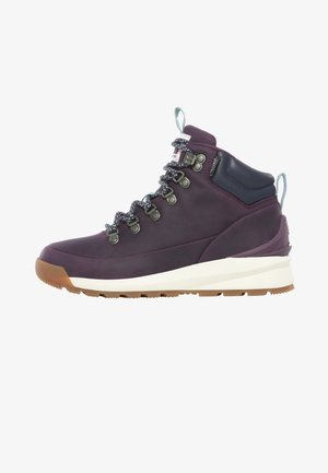 W BACK-TO-BERKELEY MID WP - Hiking shoes - blackbrry wine/urban navy