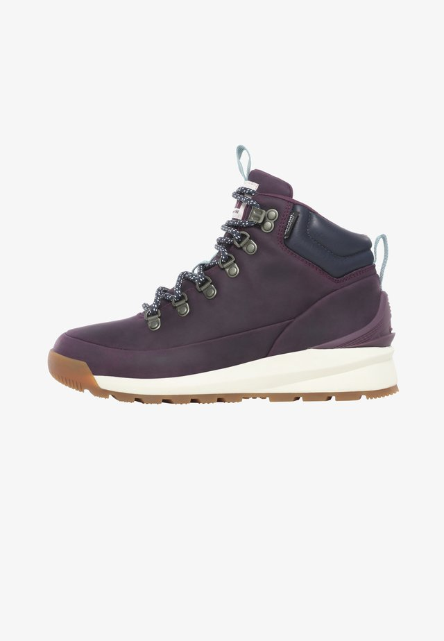 W BACK-TO-BERKELEY MID WP - Outdoorschoenen - blackbrry wine/urban navy
