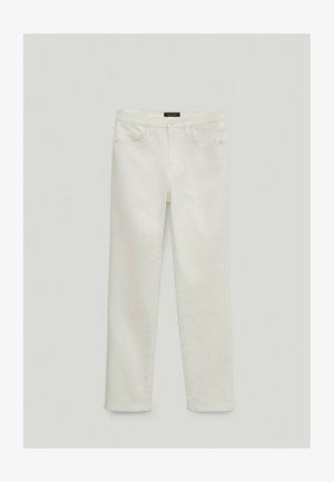 SLIM FIT - Broek - white