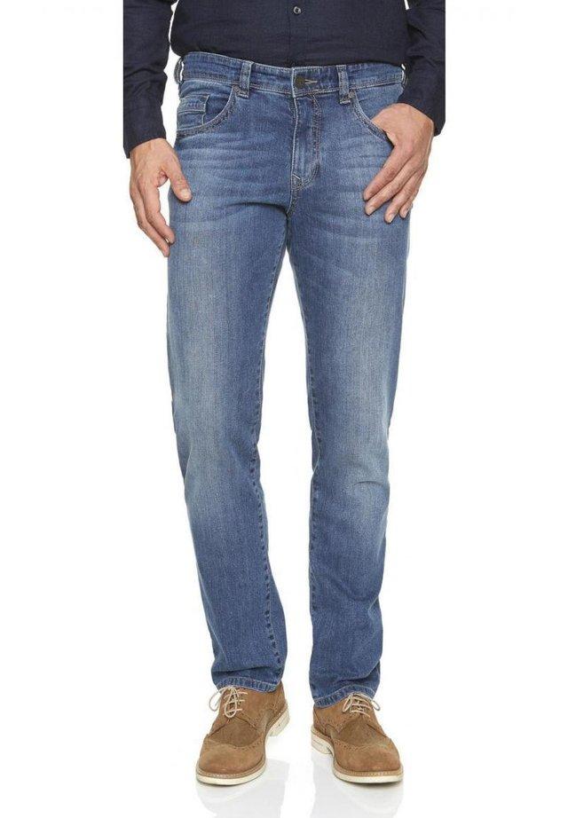 NEVIO - Straight leg jeans - hellblau