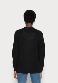 Selected Femme - SLFEMMY  BUTTONCARDIGAN  NOOS - Cardigan - black - 2