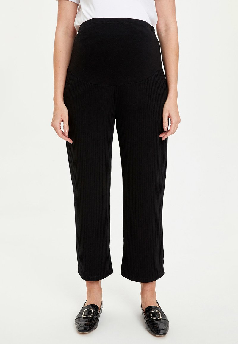 DeFacto - Trousers - black