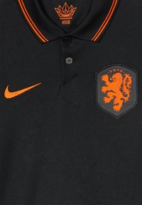 Nike Performance - NIEDERLANDE KNVB Y NK BRT STAD SS AW - National team wear - black/safety orange - 4
