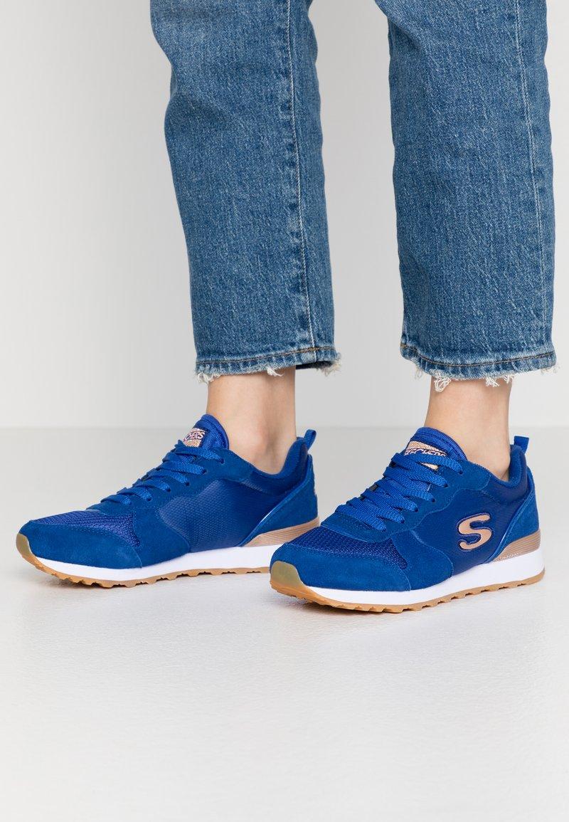 Skechers Sport - OG 85 - Zapatillas - royal blue/rose gold