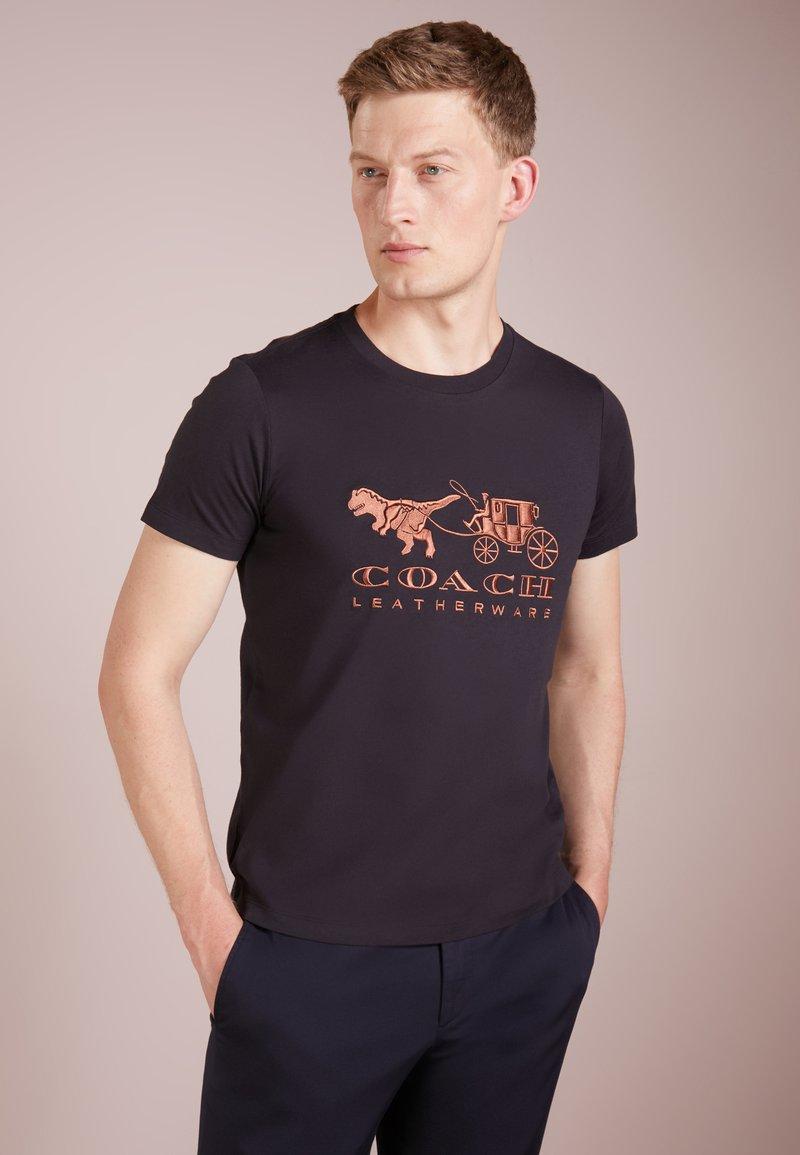 Coach - REXY AND CARRIAGE  - Print T-shirt - black