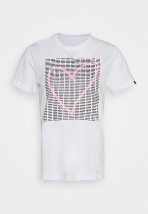 HEART - Camiseta estampada - white