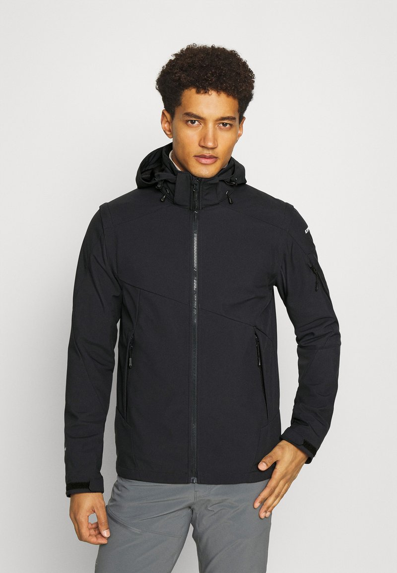 Icepeak - VELLBERG - Soft shell jacket - anthracite