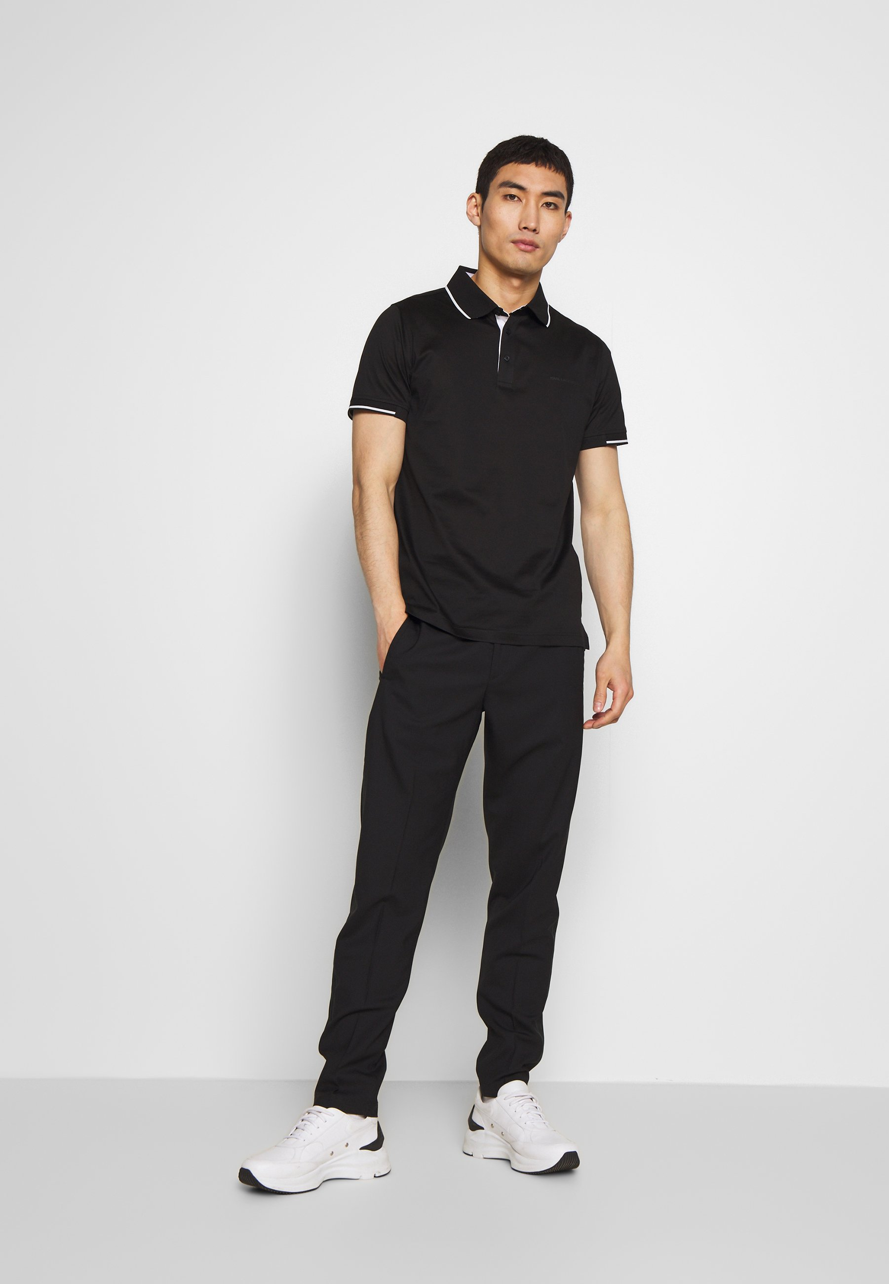KARL LAGERFELD Polo - black