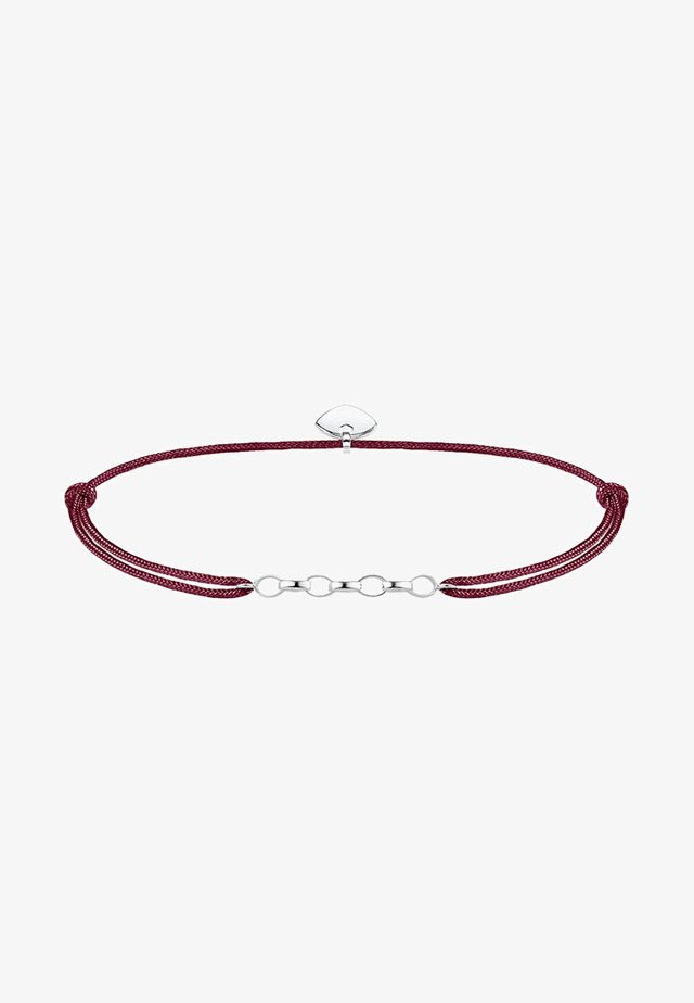 Bracelet - silver-coloured/red