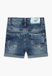 Blue Effect - GIRLS HEAVY - Denim shorts - blue denim - 1