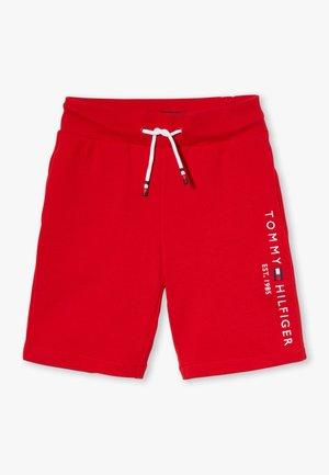ESSENTIAL - Teplákové kalhoty - red