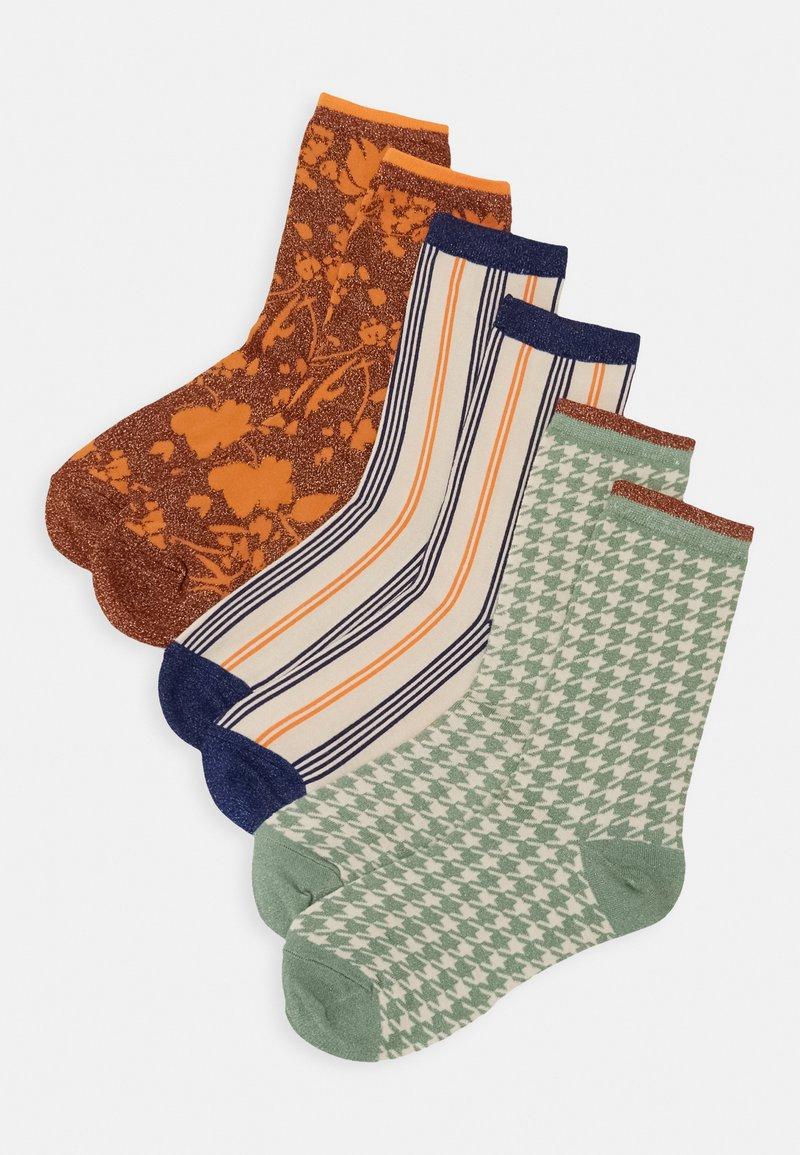 Selected Femme - SLF VIDA SOCK 3 PACK - Socks - sandshell