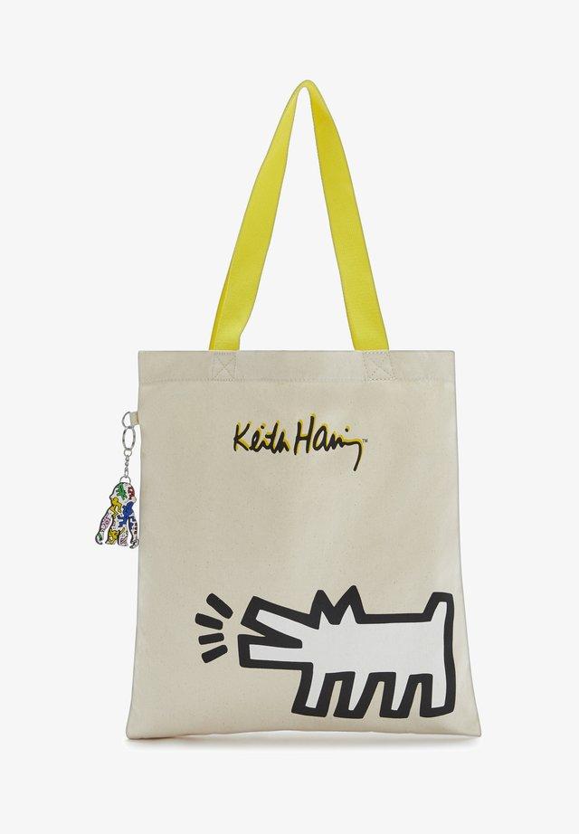 MY KH TOTE - Shoppingväska - beige