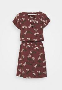 Vero Moda - VMSASHA BALI SHORT DRESS - Denní šaty - sable/nellie - 1