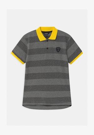 CONTRAST COLOR - Polo shirt - grey estoque