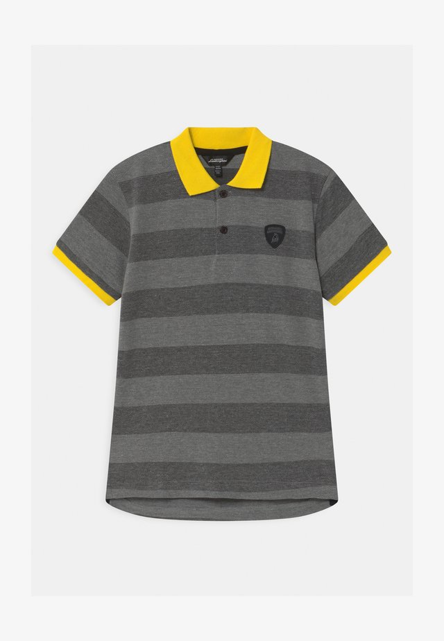 CONTRAST COLOR - Poloshirt - grey estoque