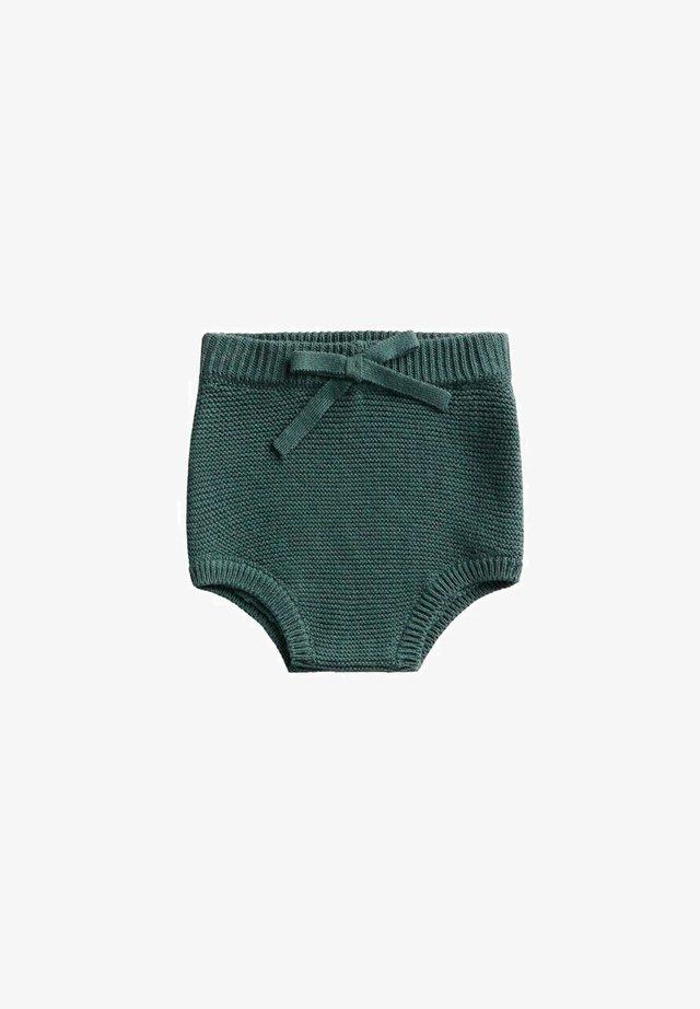 GEBREIDE - Shorts - groen