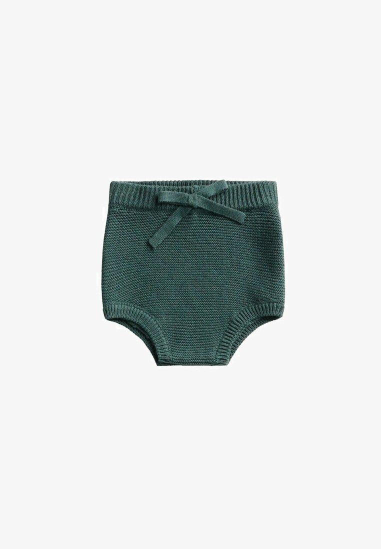 Mango - GEBREIDE - Shorts - groen