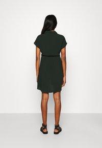 Even&Odd - Vestido camisero - dark green - 2