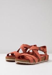 Timberland - MALIBU WAVES ANKLE - Sandals - rust - 4