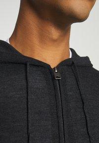 AllSaints - ZIP HOODY - Cardigan - shadow grey marl - 3