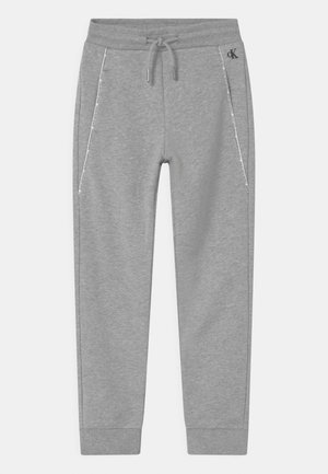 LOGO PIPING - Tracksuit bottoms - grey