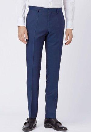 GENIUS Slim Fit  - Suit trousers - dark blue