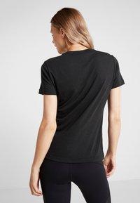 adidas Performance - W MH BOS TEE - Sports shirt - black - 2