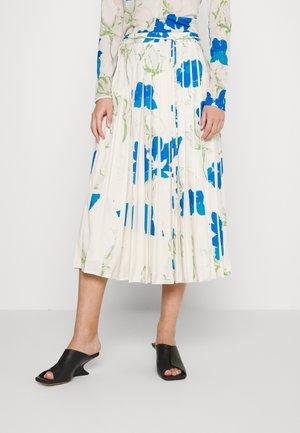 IRMA SKIRT - Pleated skirt - blue