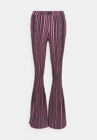 Pantalones - pink/black