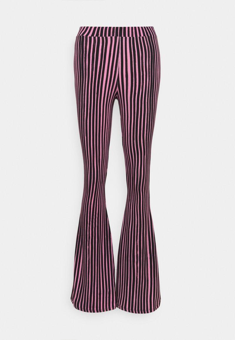 Stieglitz - Trousers - pink/black