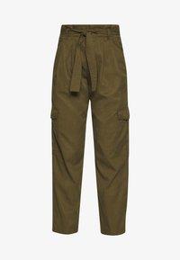 Marc O'Polo DENIM - TURN UP DETAIL - Pantalon classique - summer olive - 3